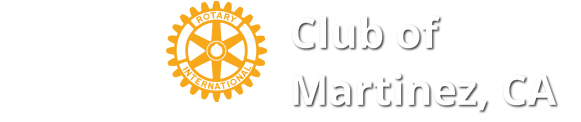 Rotary Club of Martinez, CA